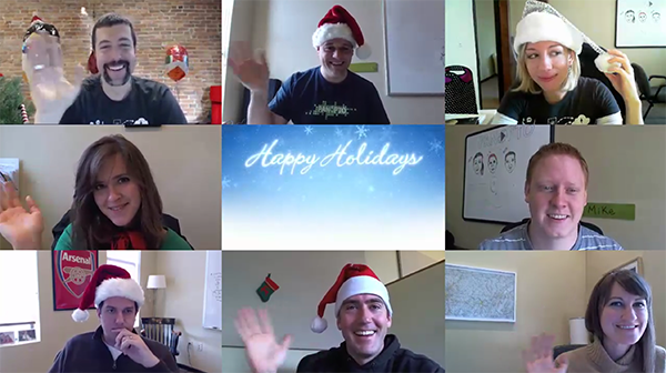Holiday Card 2012 still - Panopto Video Platform