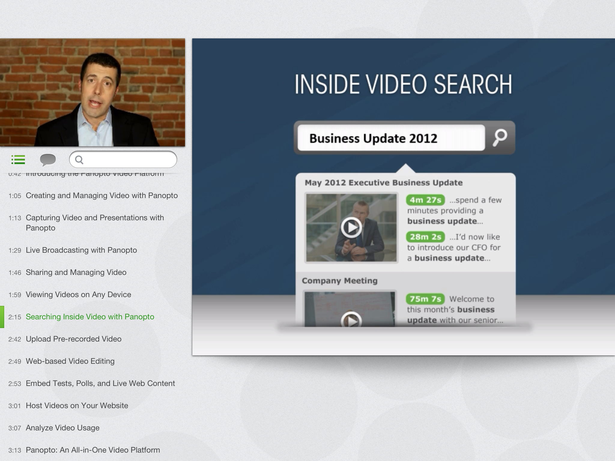 Panopto Online Video Platform - iPadApp-16Aug2013