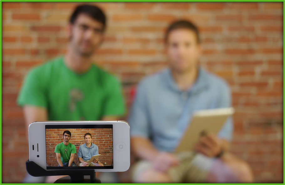 Flipped Meeting Video with Smartphone - Panopto Enterprise Video Platform