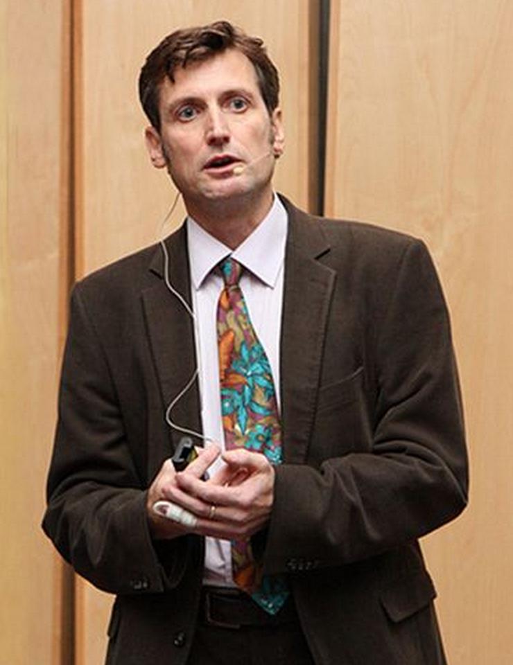 Dr. Jeremy Pritchard, Senior Lecturer an der University of Birmingham