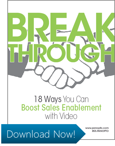 ICON - Video for Sales Training White Paper - Break Through