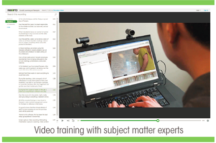 Sales Enablement Training Software - Panopto Video CMS
