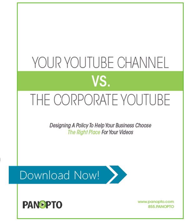 YouTube or VCMS icon - Panopto Video CMS
