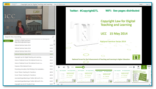 Copyright Law presentation thumbnail - Panopto video platform