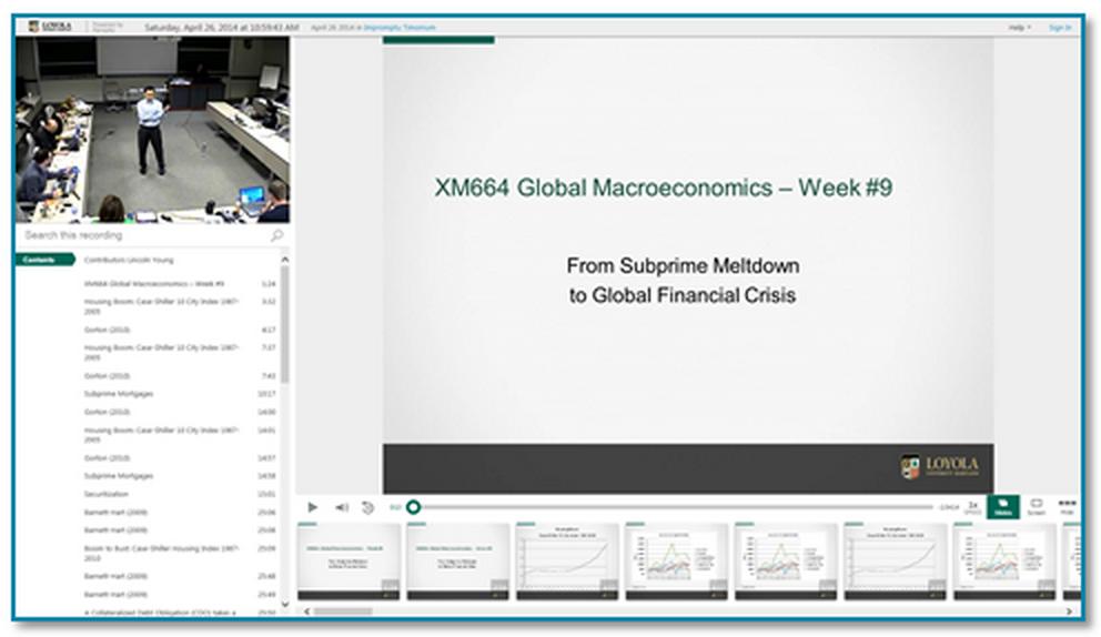 グローバル・マクロ経済学講義 - Panopto Classroom Capture