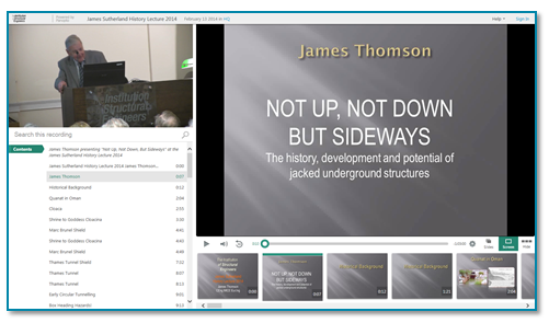 Jacked Underground Structures - Panopto Online Presentation Recording