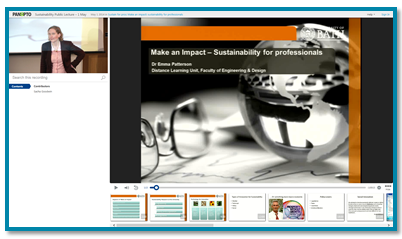 Sustainability for Professionals thumbnail - Panopto Video Platform