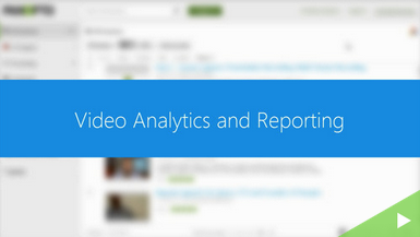 Video Analytics and Reporting icon - Panopto Video CMS