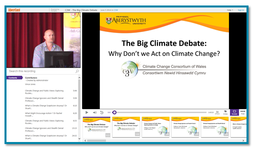 Climate Change Debate - Panopto Video Platform