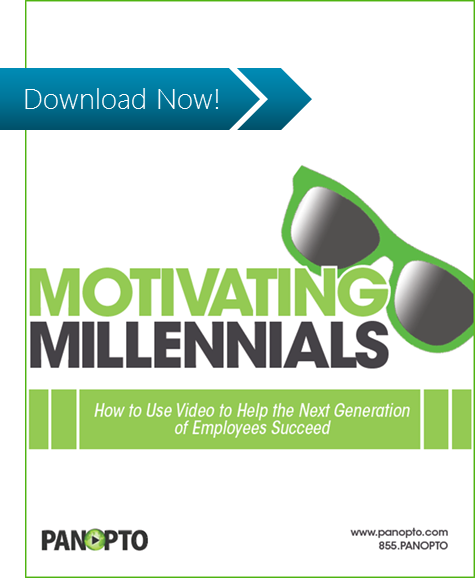 ICON - Motivating Millennials with Video - Panopto Video Platform