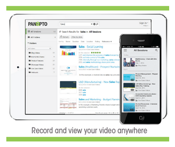 Mobile Video Presentations - Panopto Video Platform