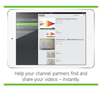 Recherche vidéo mobile - Plateforme d'apprentissage vidéo Panopto