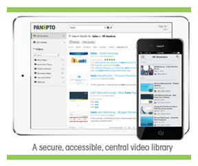 Panopto Centralized Video Library - Video Content Management System