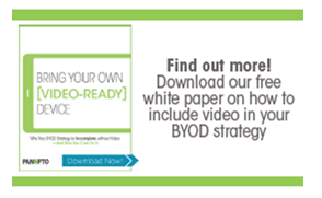 Read BYOD Whitepaper - Panopto Video Platform