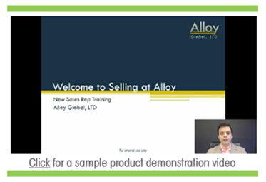 Sample Sales Enablement Video - Panopto Corporate Learning Video Platform