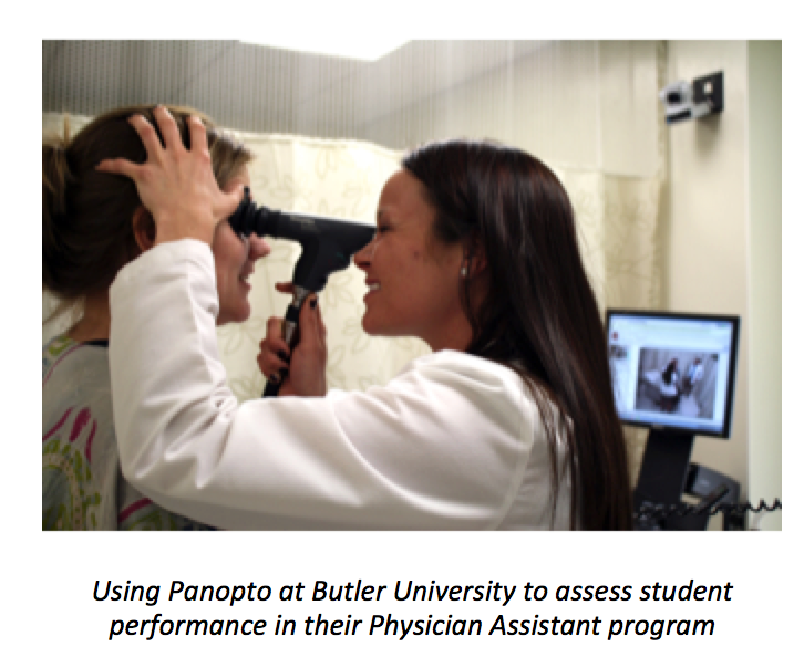 Using Panopto Blended Learning Platform at Butler University