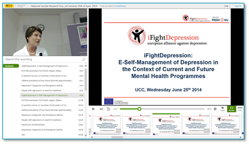 iFightDepression-Panopto Video Platform