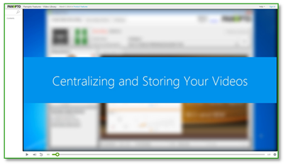Centralize Your Videos - Panopto Video Content Management System