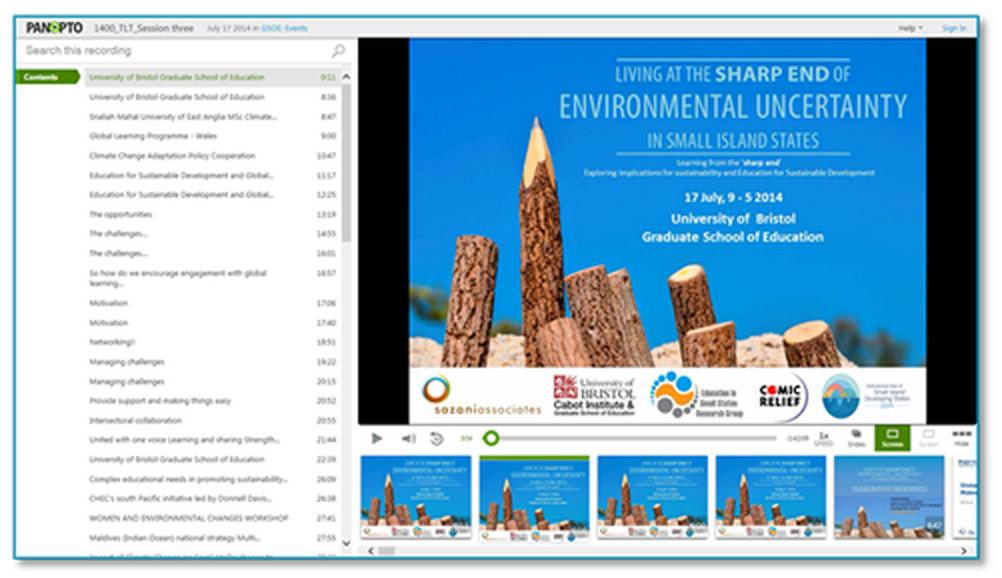 環境の不確実性 - Panopto Video Platform