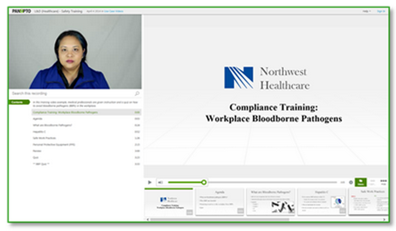 Healthcare Safety Training Video - Healthcare complaince training video