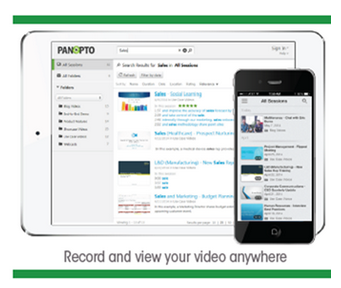 Record and View Video for Learning and Development Anywhere - Panopto Mobile Video Platform