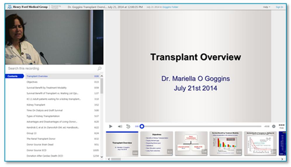 移植の概要 - Panopto Video Platform