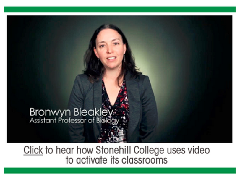 Flipped Classrooms at Stonehill College - Panopto Lecture Capture Platform