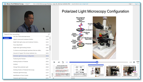 Nikon Microscope Review - Panopto Video Platform