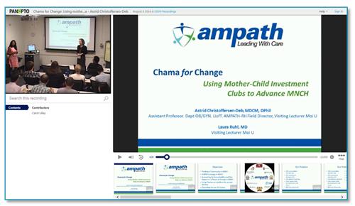 Presentation - Panopto Video Platform