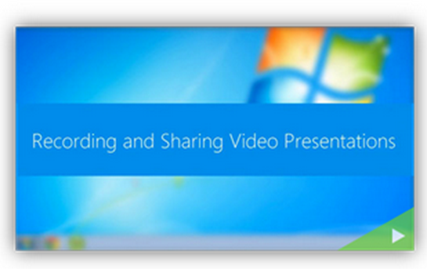 Recording and Sharing Video Presentations - Panopto Video Platform