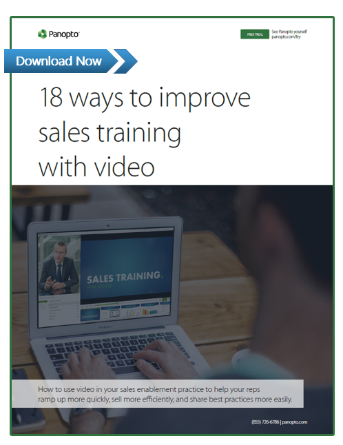 Sales Training and Onboarding With Video