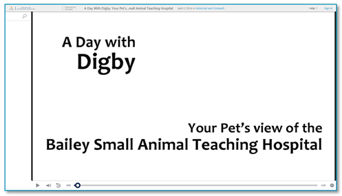 A Day With Digby - Panopto Onboarding Video Platform