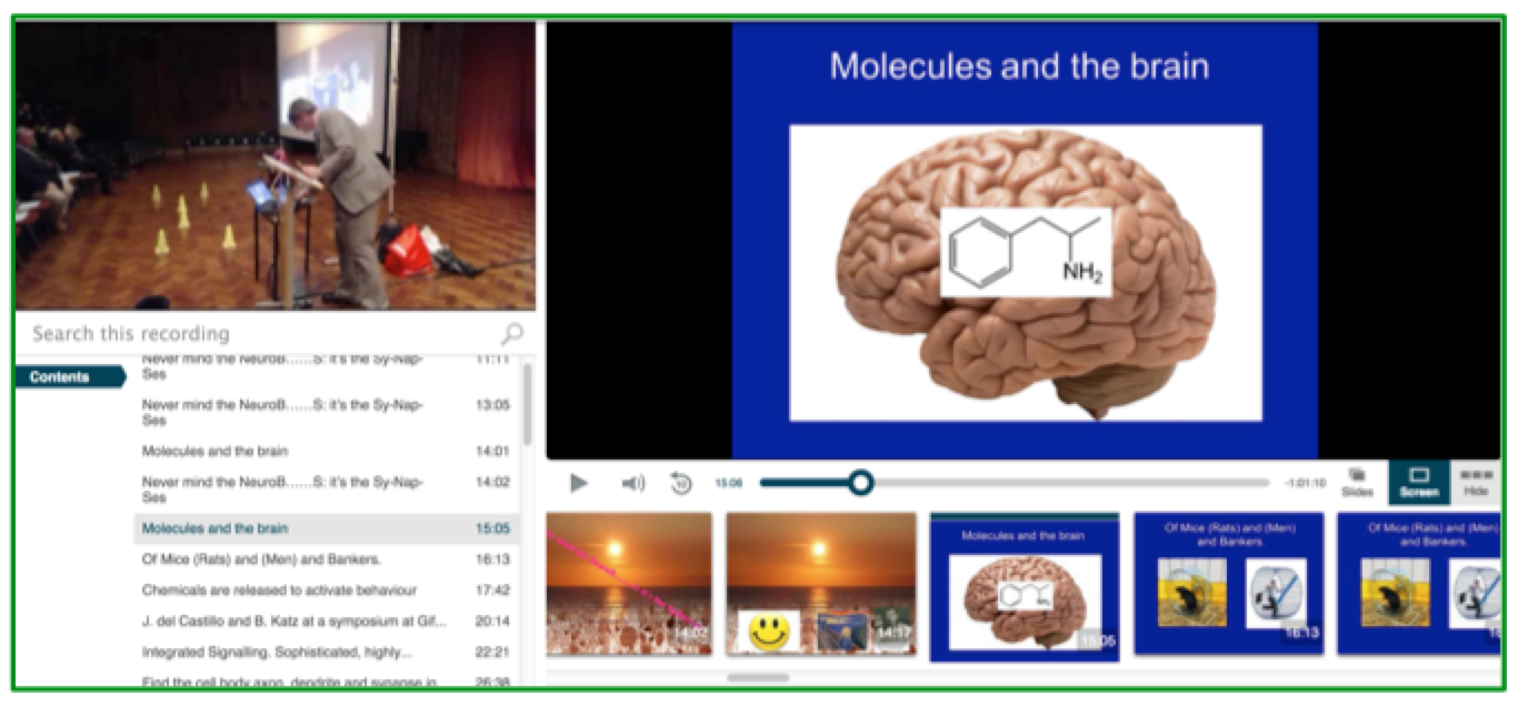 Neurobiology Presentation - Panopto Lecture Capture Platform
