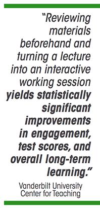 Vanderbilt Quote - Panopto Flipped Classroom Video Platform