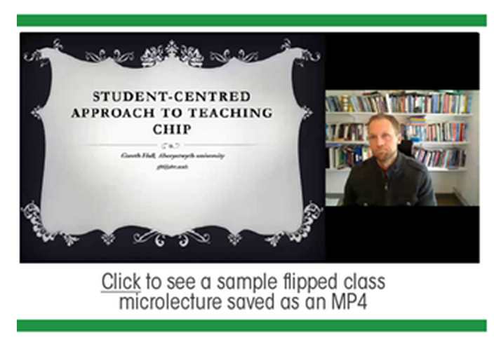 Sample Microlecture - Panopto Platform for Flipped Classrooms
