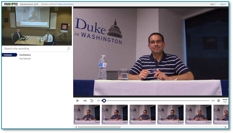 DukeForeignPolicy-Panopto Video Presentation Software
