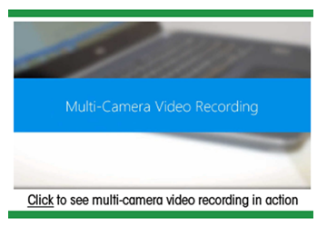 Multi Camera Video Recording - Panopto Video Platform
