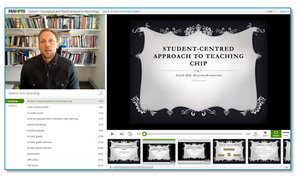 Student Centered Approach to Teaching - Panopto Video Platform