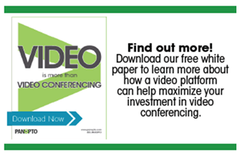 Videoconferencing White Paper - Panopto Video Platform