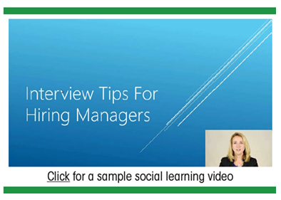 Interview Tips - Sample Social Learning Video - Panopto