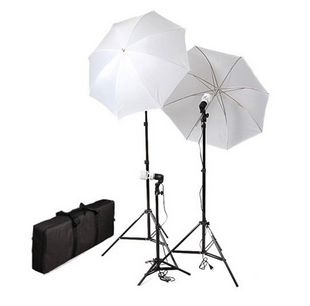 CowboyStudio Umbrella Lighting Kit - classroom recording equipment