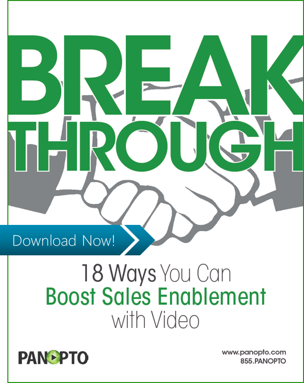 White Paper: 18 Ways You Can Boost Sales Enablement with Video