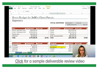 Sample Deliverable Review Video - Panopto Video Platform
