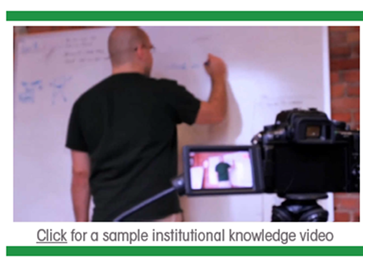 Sample Institutional Knowledge Video - Panopto Social Learning Video Platform
