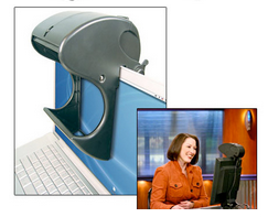 SeeEye2Eye Webcam Teleprompter  - classroom recording equipment