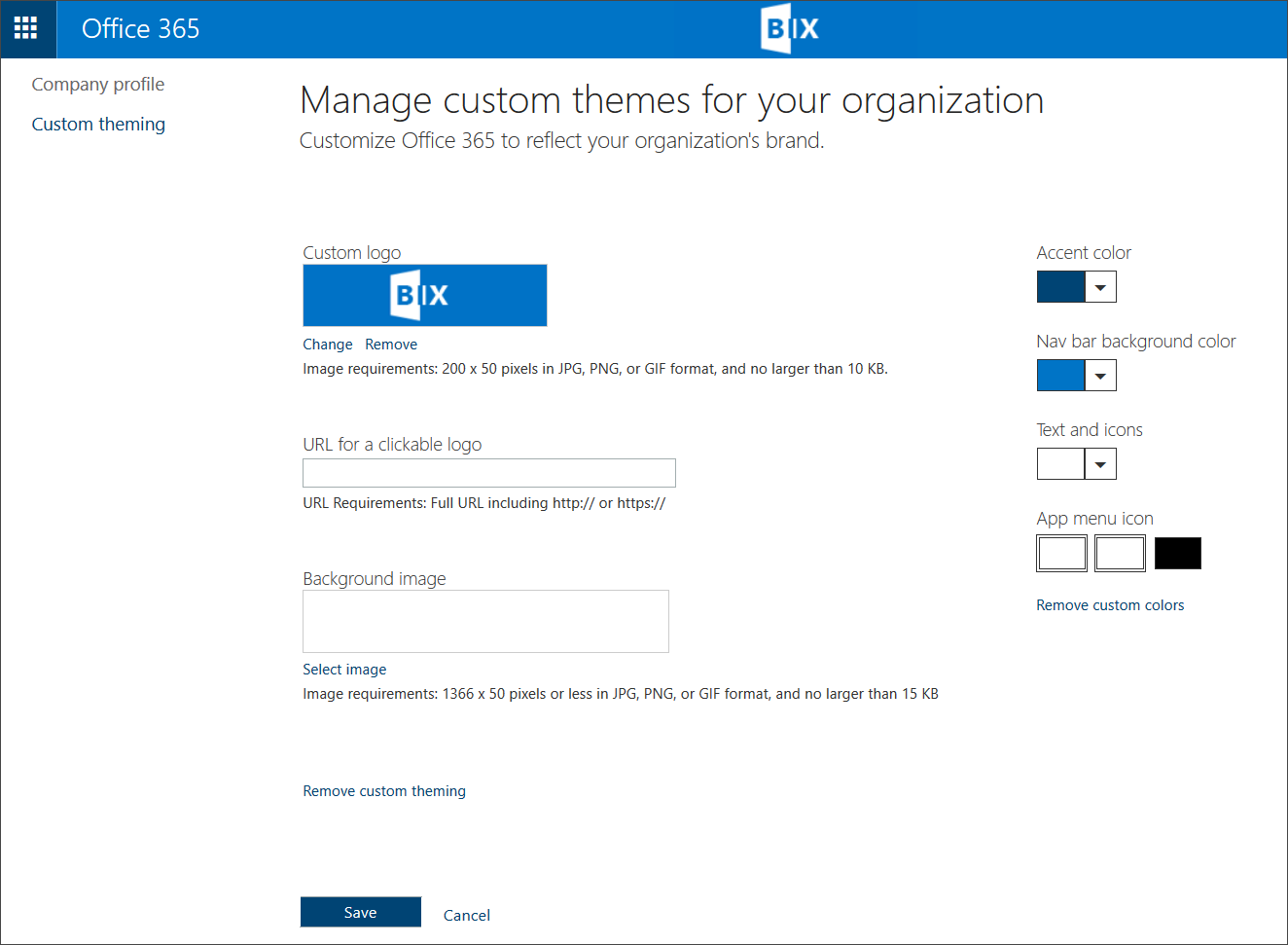 SharePoint Office 365 Video Theming