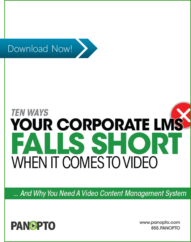ICON - CTA - 10 Ways Your LMS Falls Short When It Comes To Video - Video
