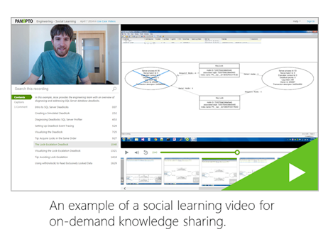 Social Learning Video Example - Panopto Video Platform