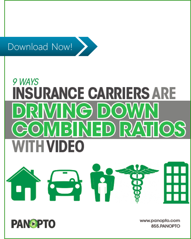 ICON - CTA - Video for Insurance Carriers - Panopto Video Platform