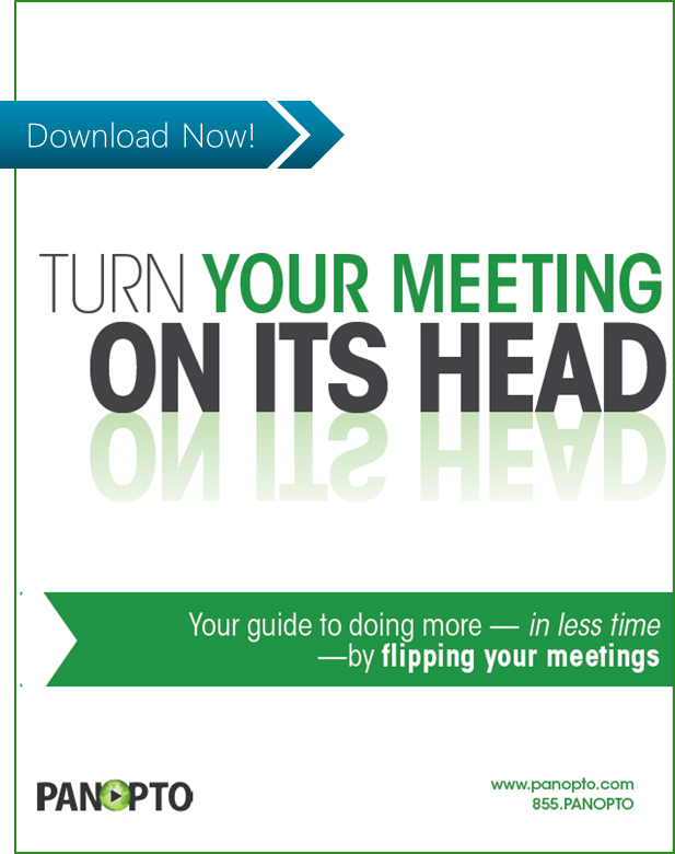 ICON - CTA - Turn Your Meeting On Its Head - Guide To Flipped Meetings with Video